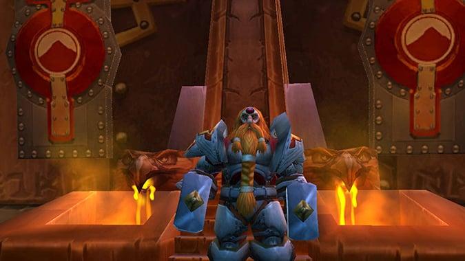 WoW Ironforge King