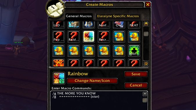 How to make macros in the WoW Classic beta
