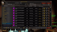 auction house flask prices