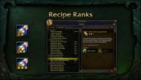 How difficult do you find it to be a completionist when it comes to WoW's professions?