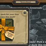 Tavern Brawl awarding a new Journey to Un'goro pack