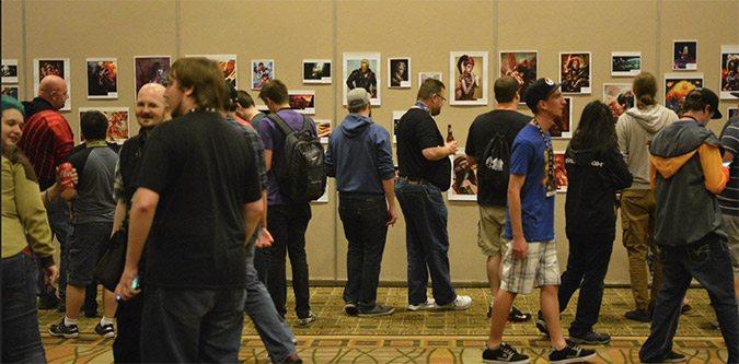 Blizzcon party fan art gallery