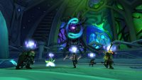 party fighting Cathedral of Eternal Night boss