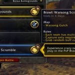 Warsong Scramble now live on North American realms