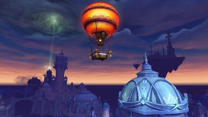 Balloon Tour World Of Warcraft Suramar