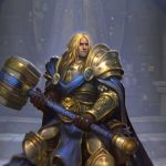 Defeat the Lich King on all Hearthstone classes for Young Arthas hero skin