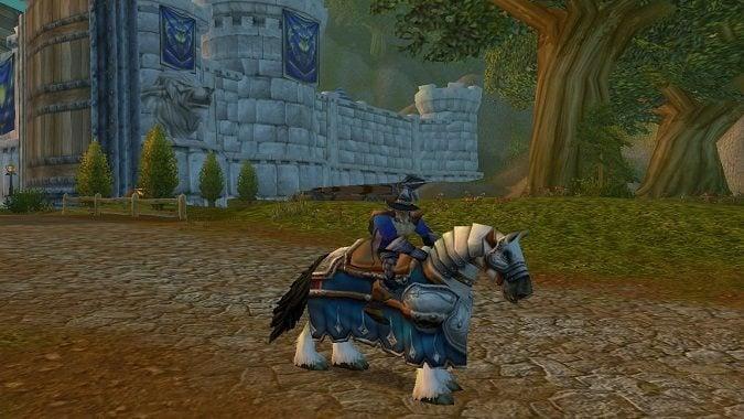 summon warhorse