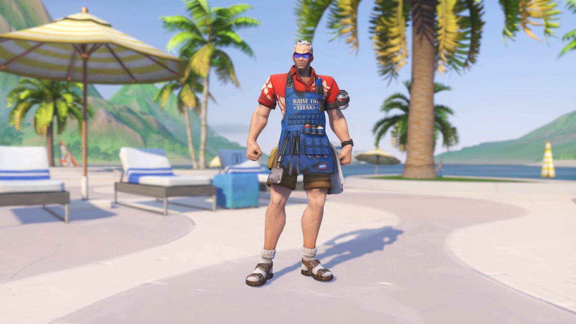 All the Overwatch Summer Games skins   Blizzard Watch