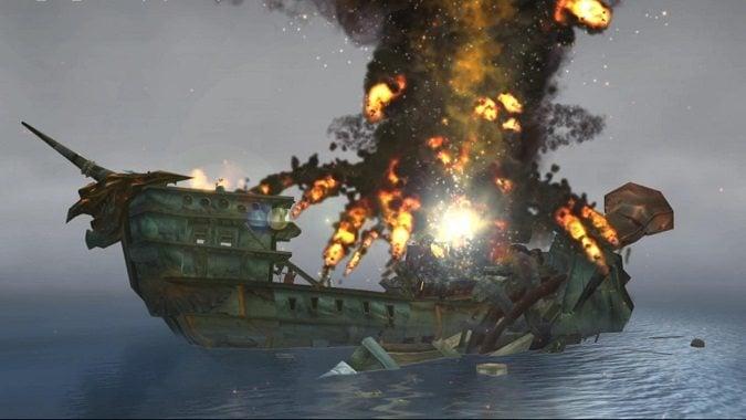 exploding goblin boat
