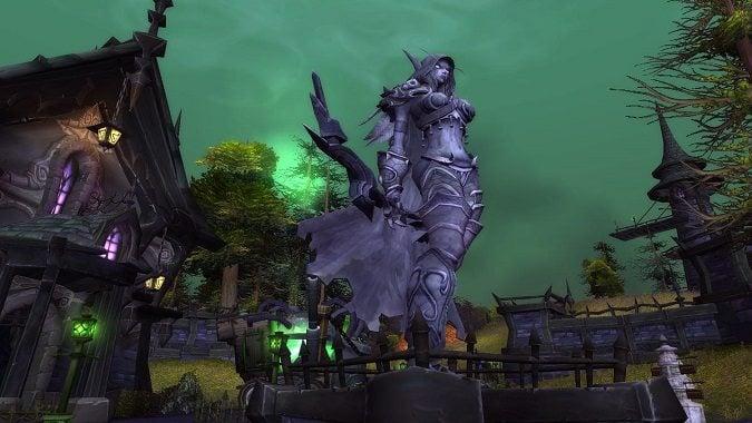cataclysm sylvanas statue