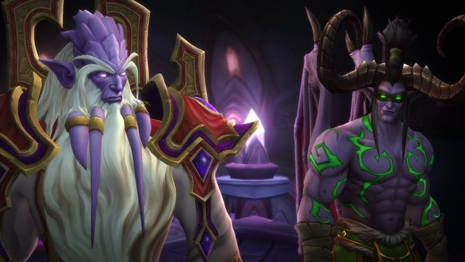 velen and illidan cutscene