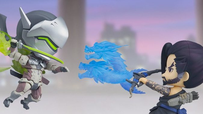 Genji And Hanzo Are The Latest Adorable Nendoroid Figures