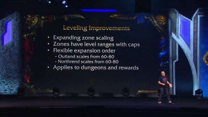 blizzcon zone scaling