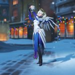 Two free Winter Wonderland victory poses coming soon for Overwatch players