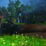 Patch 7.3.5's Seething Shore battleground offers a lush environment and dynamic PVP