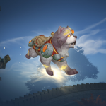 Shu-zen, the Divine Good Doggo mount now available for purchase