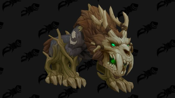 Kul Tiras Feral Druid form - We got your First Look at them
