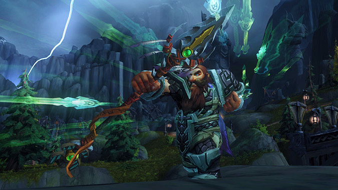 hunter artifact spear
