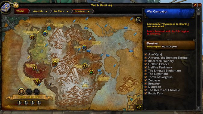 Legion World Map.Legion World Quests Archives Blizzard Watch