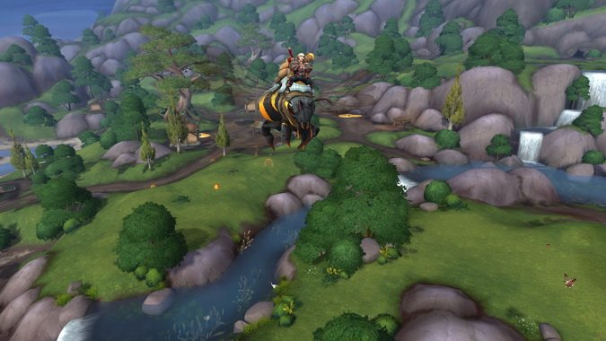WoW Alliance Bee Mount