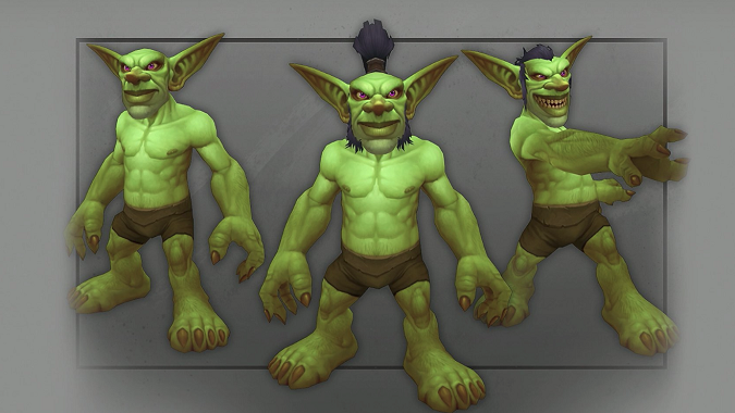 WoW Goblin Character Model Update