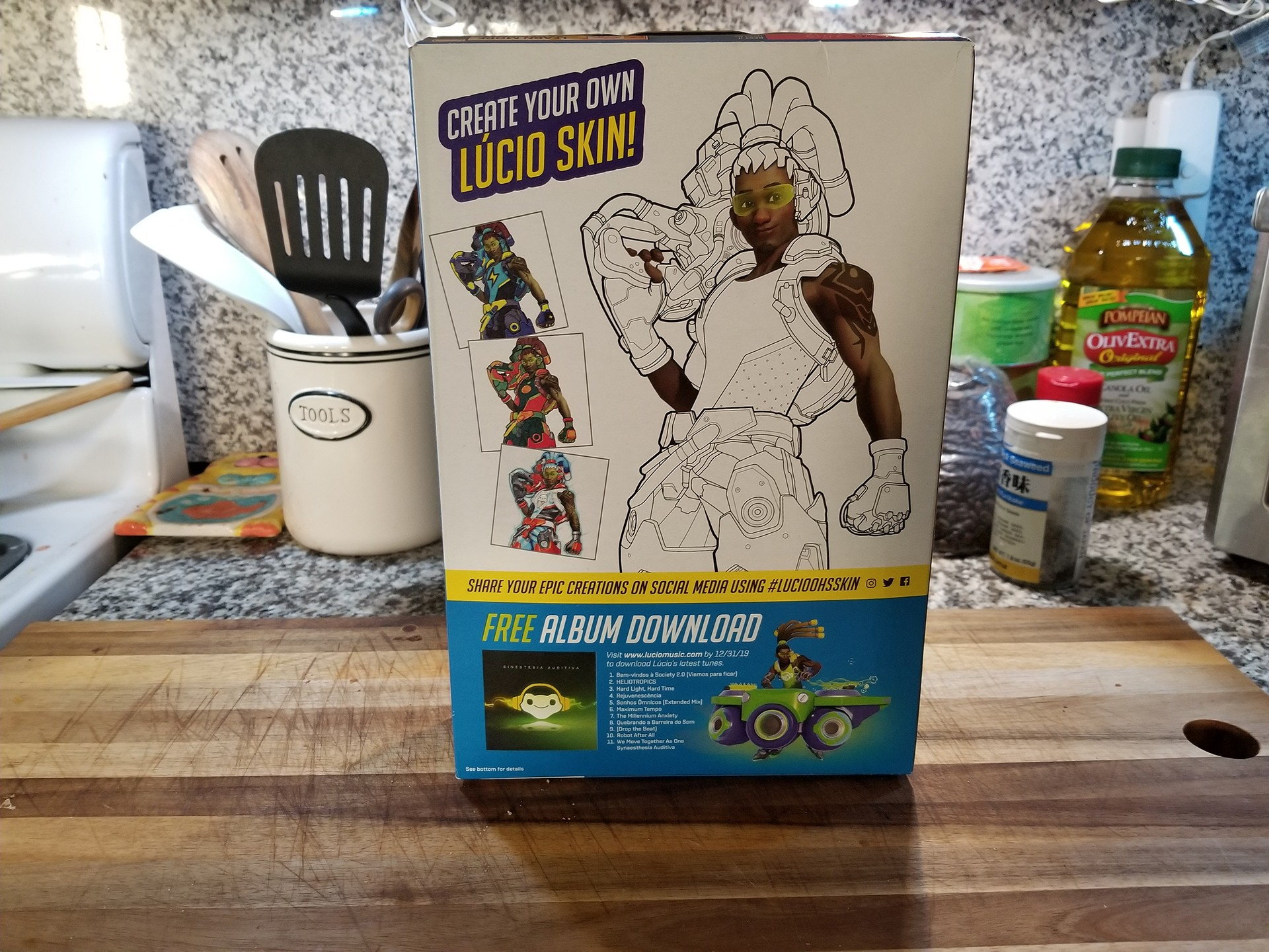 Lucio Ohs Cereal skin