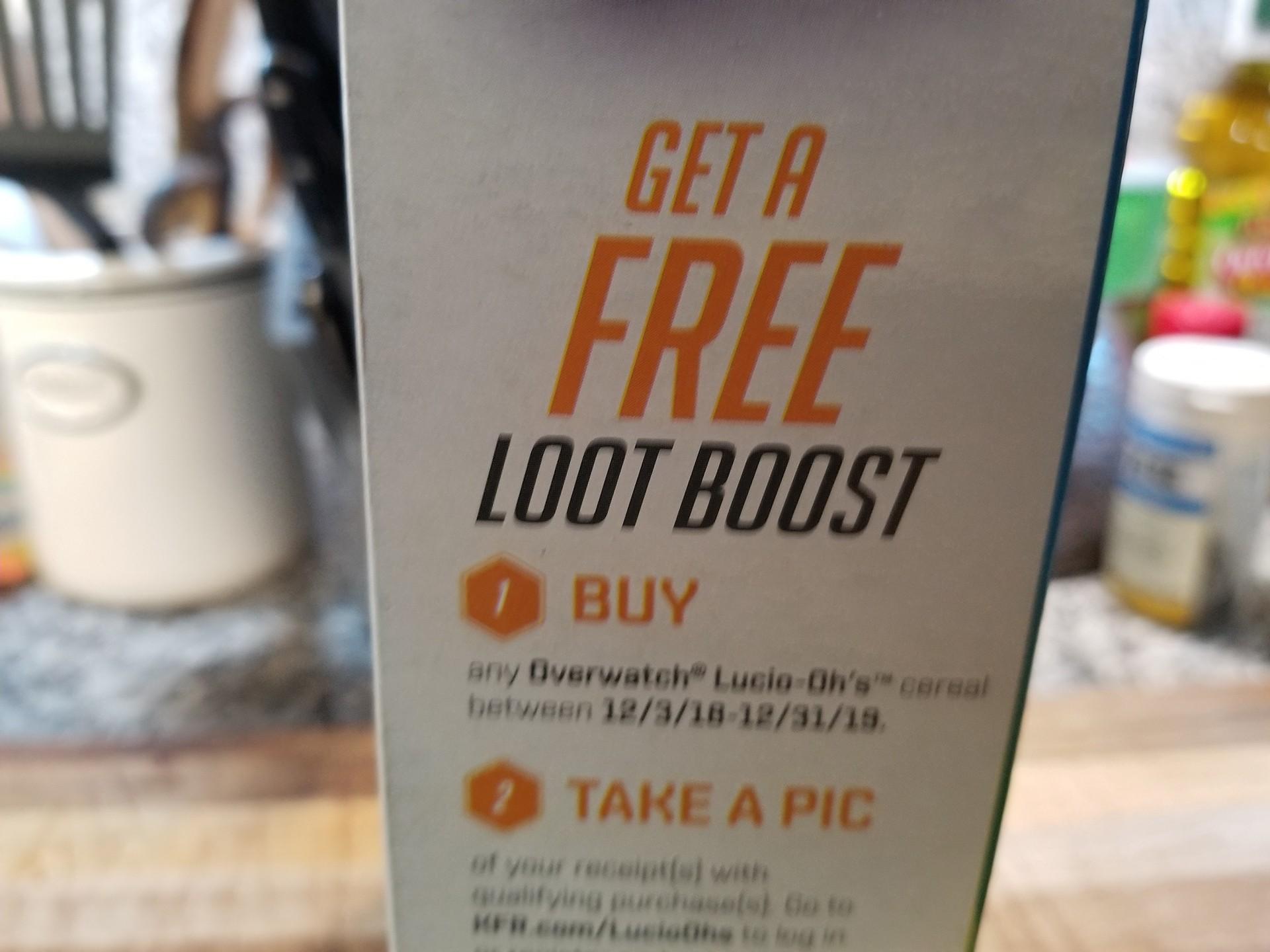 Lucio Ohs Loot Boost
