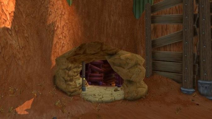 badlands cave