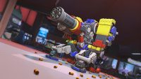Overwatch's latest challenge event builds you a LEGO Bastion skin