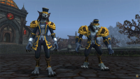We will finally be dapper werewolves and maniac goblins with Patch 8.3's heritage armor