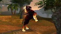 With Dire Maul's launch, Warlock Dreadsteed and Paladin Charger epic mounts are now available in WoW Classic