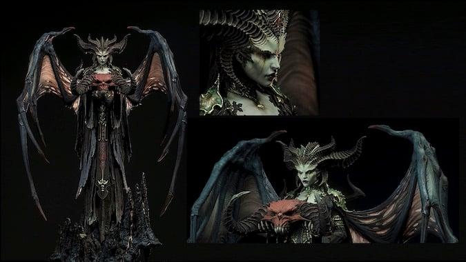 Blizzcon 2019 Diablo 4 Lilith Statue