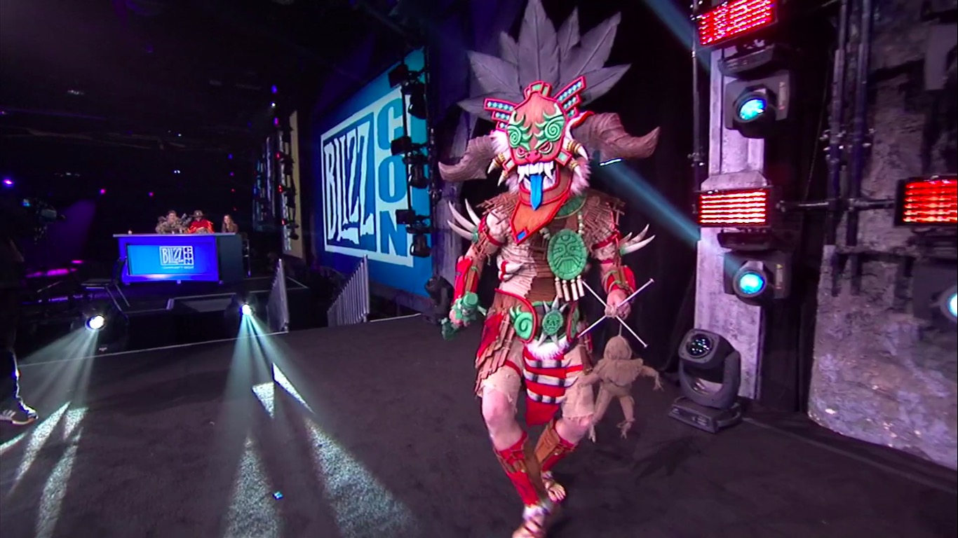 D3 Witch Doctor Cosplay