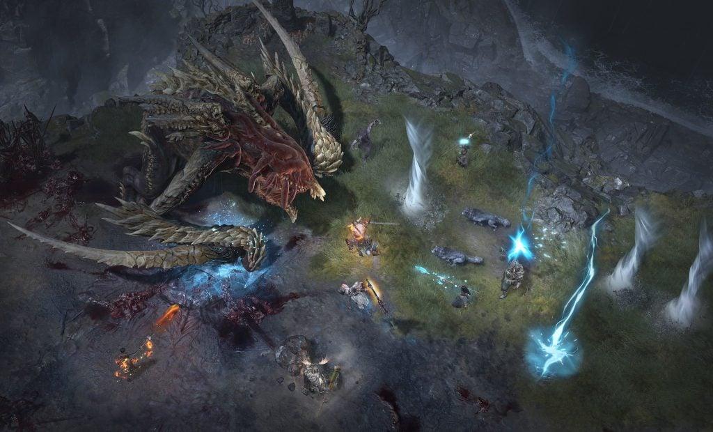 Diablo 4 multiplayer world boss encounter