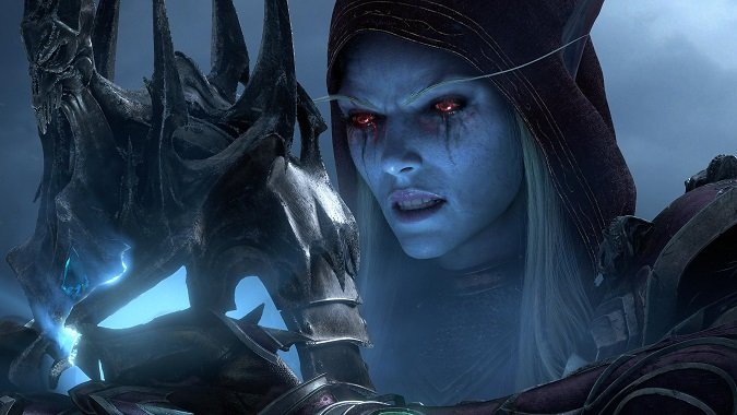 sylvanas from cinematic