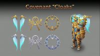 The four Covenants of the Shadowlands are the new Class Halls