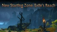Take a look at Exile's Reach, the new 1-10 leveling zone in Shadowlands