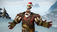 Winter Veil 2019 adds a new Pepe costume then silently removes it, plus other holiday festivity