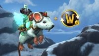 Squeakers the Trickster, WoW's new flying rat mount, is yours with a six month subscription (and he'll melt your heart with cute)
