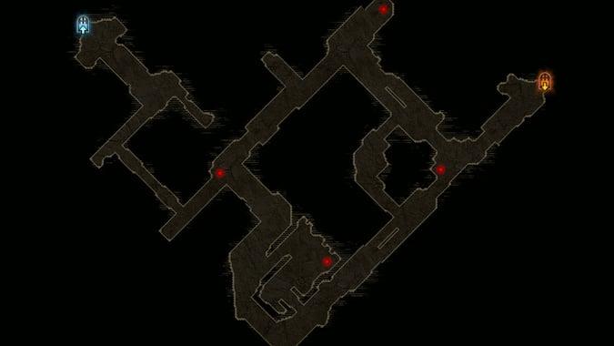 Diablo 3 Greater Rift Map