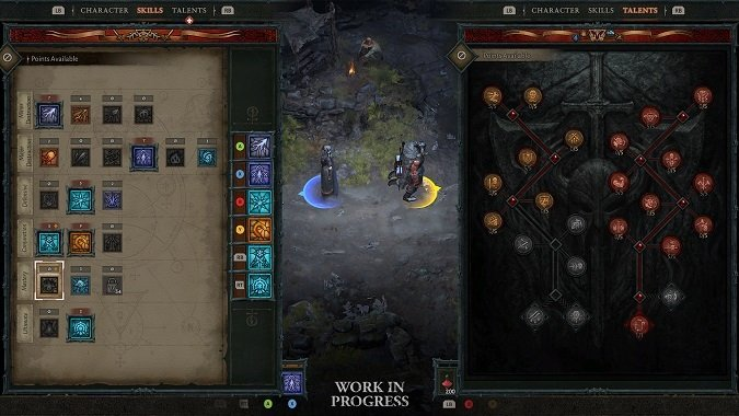 Diablo 4 Co-Op UI Work-In-Progress