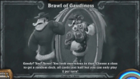 Hearthstone's Tavern Brawl of Gaudiness mixes an interesting concept with randomness