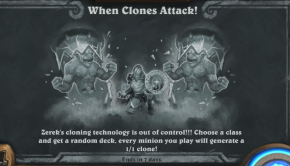 Hearthstone's When Clones Attack Tavern Brawl lets you build your own (random) clone army