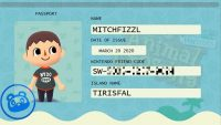 Best website ever helps you to create Animal Crossing themed boarding pass, passport, and more to easily share your Friend Code