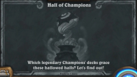 Play like a Hearthstone pro in this week's Hall of Champions Tavern Brawl