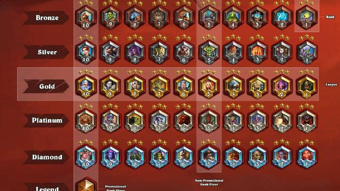 hearthstone ranked ladder