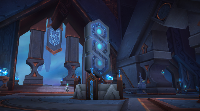 The mysterious Oribos is the capital of the Shadowlands, but Blizzard's preview shows a city facing desperate times