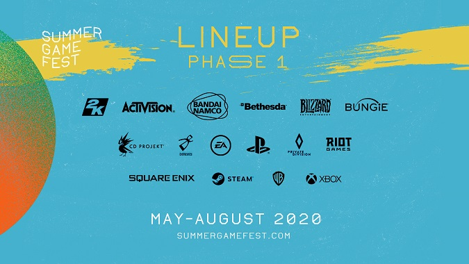 Summer Game Fest - Phase One Lineup
