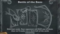 Are you worthy to wield the ban hammer in Hearthstone's Battle of the Bans Tavern Brawl?