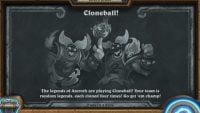 Its time to play ball in Hearthstone's Cloneball Tavern Brawl